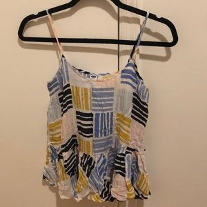 Old navy printed tank top
